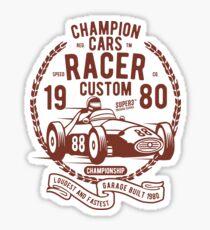 RACING CARS Sticker
