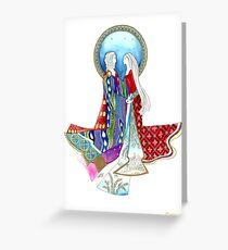 I am my lover's and my lover is mine Greeting Card