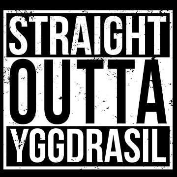 Overlord Straight Outta YGGDRASIL - Anime Shirt by mzethner