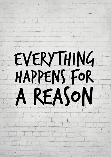 Everything Happens For A Reason Marilyn Monroe Quote Posters By