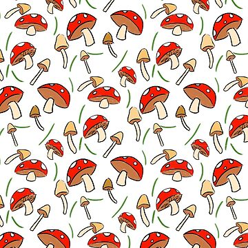 Mushroom Pattern by catherinehom