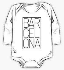 Barcelona Souvenir One Piece - Long Sleeve