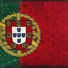 Portugal Flag Painting by mijumi