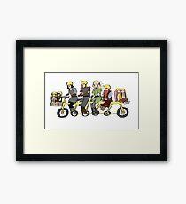 Fellowship bike Framed Print
