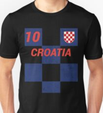 Croatia World Soccer Jersey T-Shirt, Croatian Football Shirt Unisex T-Shirt