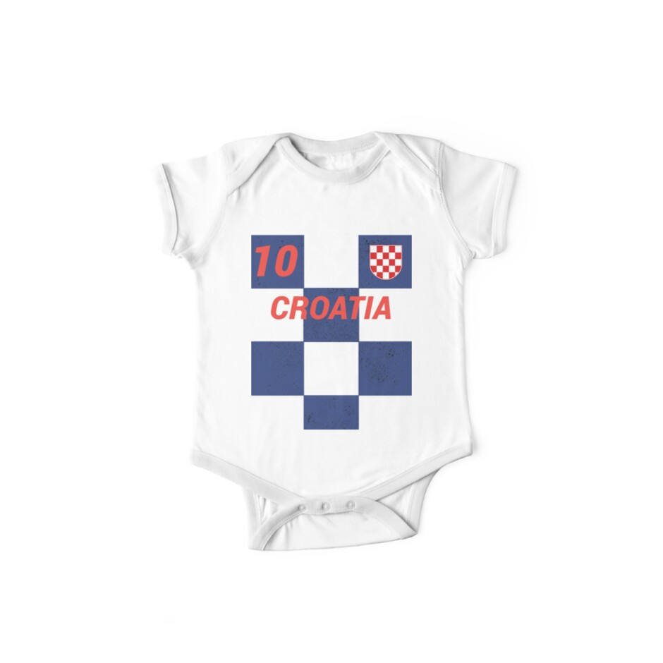 546e34cd1b1 Croatia World Soccer Jersey T-Shirt, Croatian Football Shirt