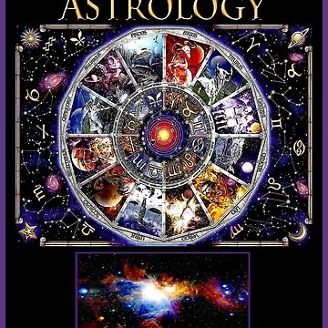 ASTROLOGY : Vintage Zodiac Signs Orions Nebula Print by posterbobs