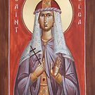 St Olga by ikonographics