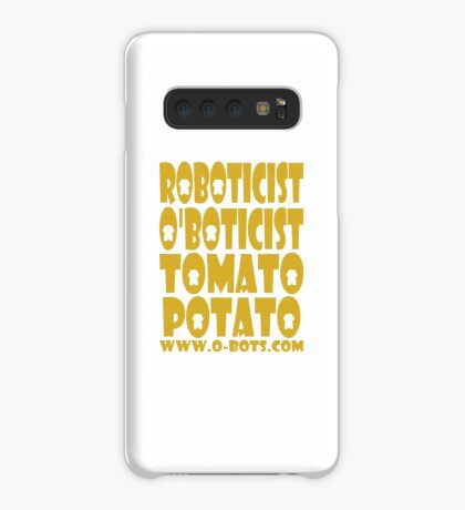 O'BOT: Roboticist O'Boticist Tomato Potato Case/Skin for Samsung Galaxy