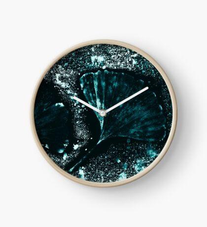 Mystérieuse Ginkgo Horloge