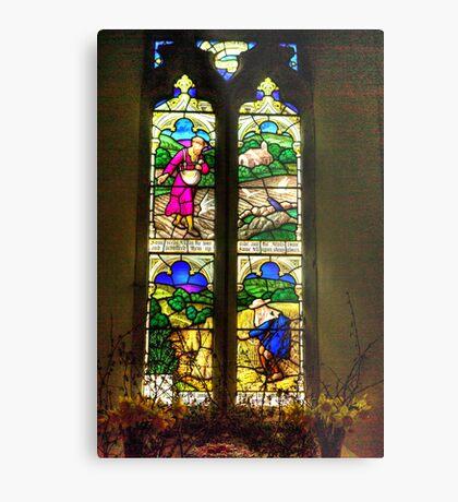 Window All Saints Church- Hawnby #4 Metal Print