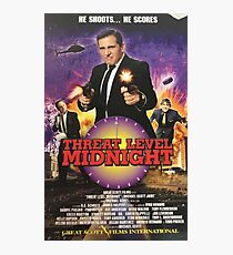 Geng Threat Level Midnight Poster Photographic Print