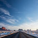 Monument Valley Drive by Will Hore-Lacy