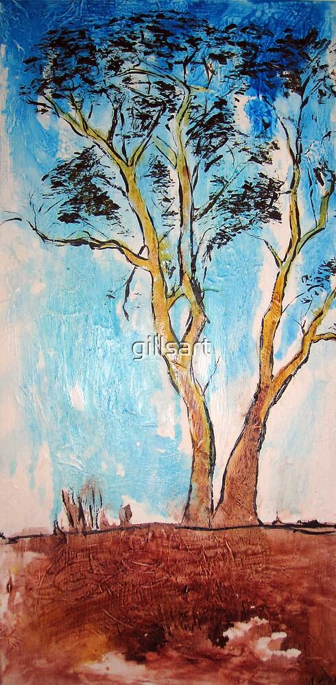 Gum Tree Australia by gillsart