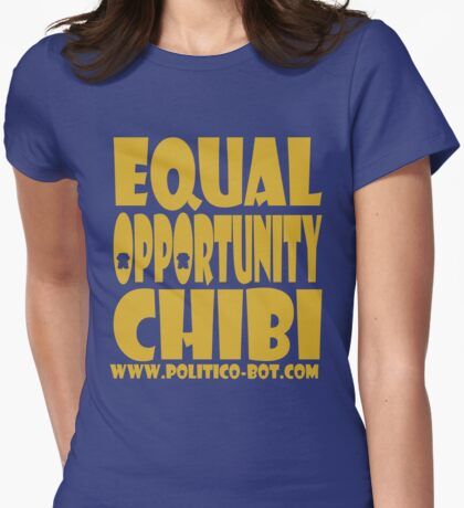 POLITICO'BOT: Equal Opportunity Chibi T-Shirt