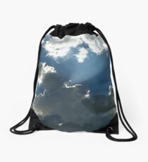The Sunray And The Dragonfly Drawstring Bag