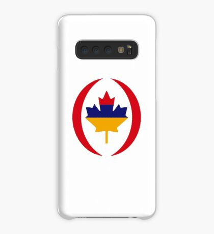 Armenian Canadian Multinational Patriot Flag Series Case/Skin for Samsung Galaxy