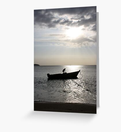 In summer, the song sings itself... Greeting Card