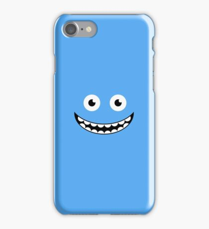 Blue Smile iPhone Case/Skin