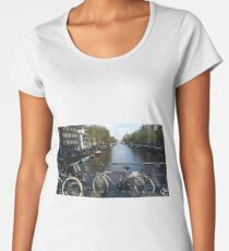 amsterdam canals Women's Premium T-Shirt