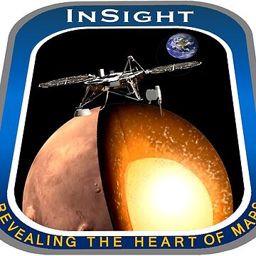 InSight Mission Operations Logo by Spacestuffplus