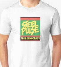 Stahl Demokratie Slim Fit T-Shirt