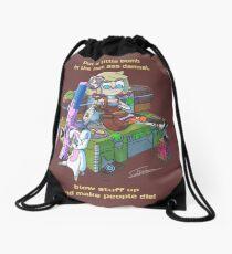 Tiny Tina fan art  Drawstring Bag