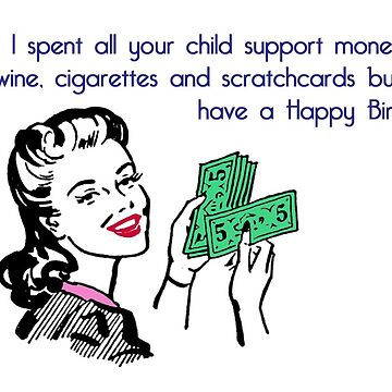 Wine, Cigarettes and Scratchcards by INFIDEL