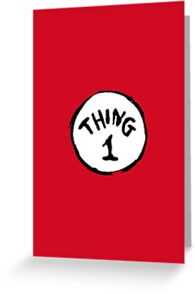 DR. SEUSS THING 1 by Mark Walker