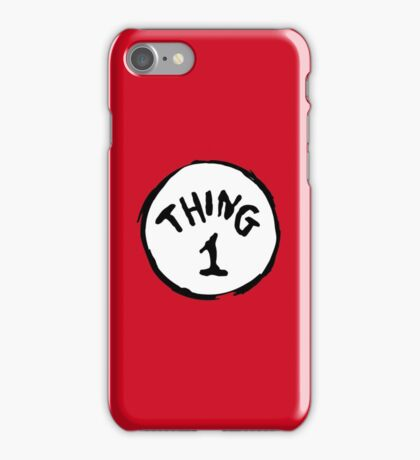 DR. SEUSS THING 1 iPhone Case/Skin