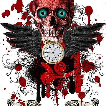 Tempus Fugit - Time Flies by ProfThropp