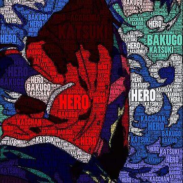 Katsuki Bakugo - Boku no Hero Academia | My Hero Academia by QShiro