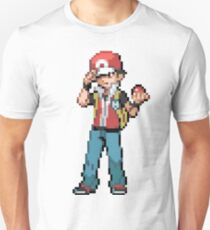 Pokemon Trainer Red Unisex T-Shirt