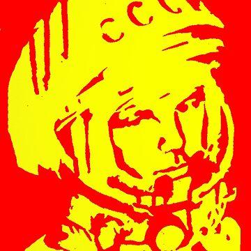 Gagarin by DrTigrou