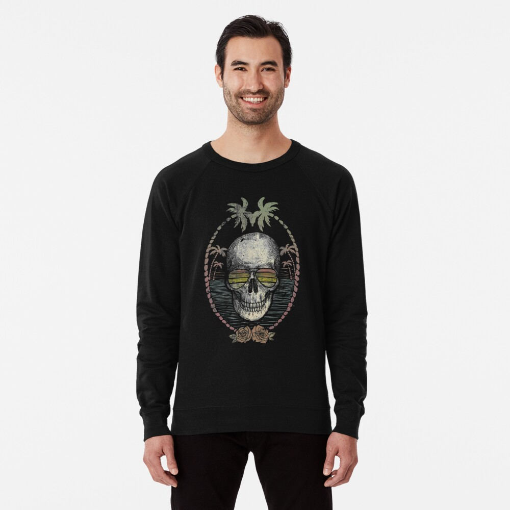 Palm Skull Lightweight Sweatshirt