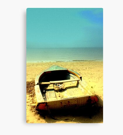 My boat of dreams Canvas Print
