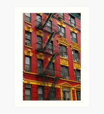 New York arquitecture. Art Print