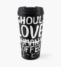 Ghouls love coffee Travel Mug