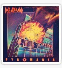 Pyromania Sticker
