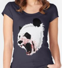 Panda Ladies Women's Fitted Scoop T-Shirt