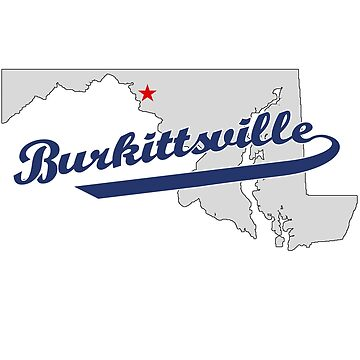 Map of Burkittsville, Maryland by chrisisreed