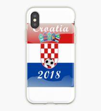 Croatia Soccer shirt Team Russia 2018 TShirt Football iPhone Case