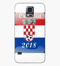 Croatia Soccer shirt Team Russia 2018 TShirt Football Case/Skin for Samsung Galaxy