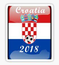 Croatia Soccer shirt Team Russia 2018 TShirt Football Sticker