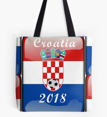 Croatia Soccer shirt Team Russia 2018 TShirt Football Tote Bag