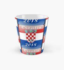 Croatia Soccer shirt Team Russia 2018 TShirt Football Tall Mug