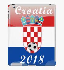 Croatia Soccer shirt Team Russia 2018 TShirt Football iPad Case/Skin