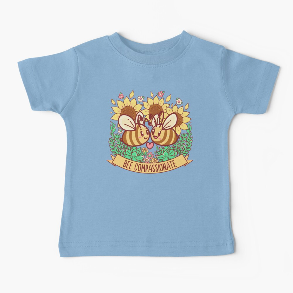 Bee Compassionate - Save the Bees Baby T-Shirt