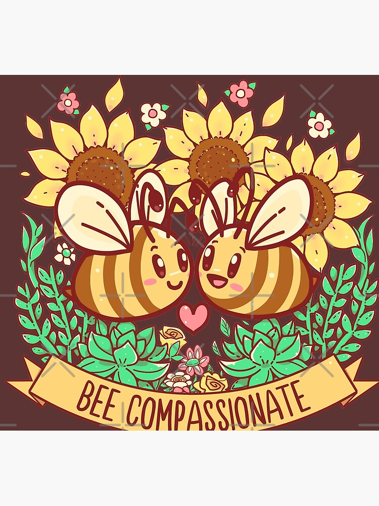 Bee Compassionate - Save the Bees by TechraNova