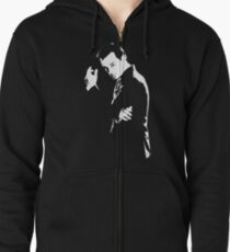Moriarty Zipped Hoodie
